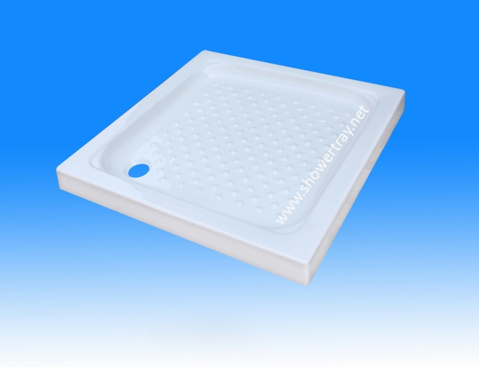 Square Shower Tray L900 215 900mm